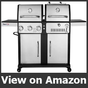 Royal Gourmet ZH3003S 3-Burner Gas and Charcoal Grill
