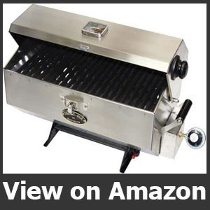 Dickinson Marine Stainless Steel Grill