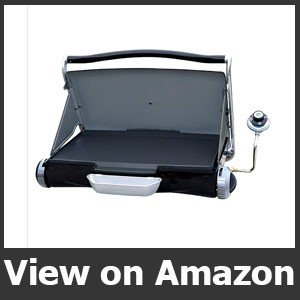 George Foreman GP200GM Portable Propane Camp & Tailgate Grill