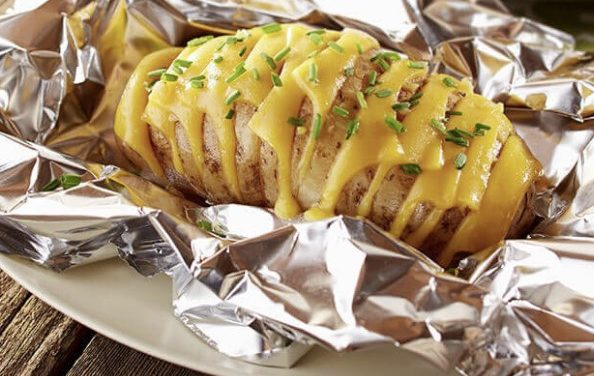 How To Bake A Potato On The Grill?