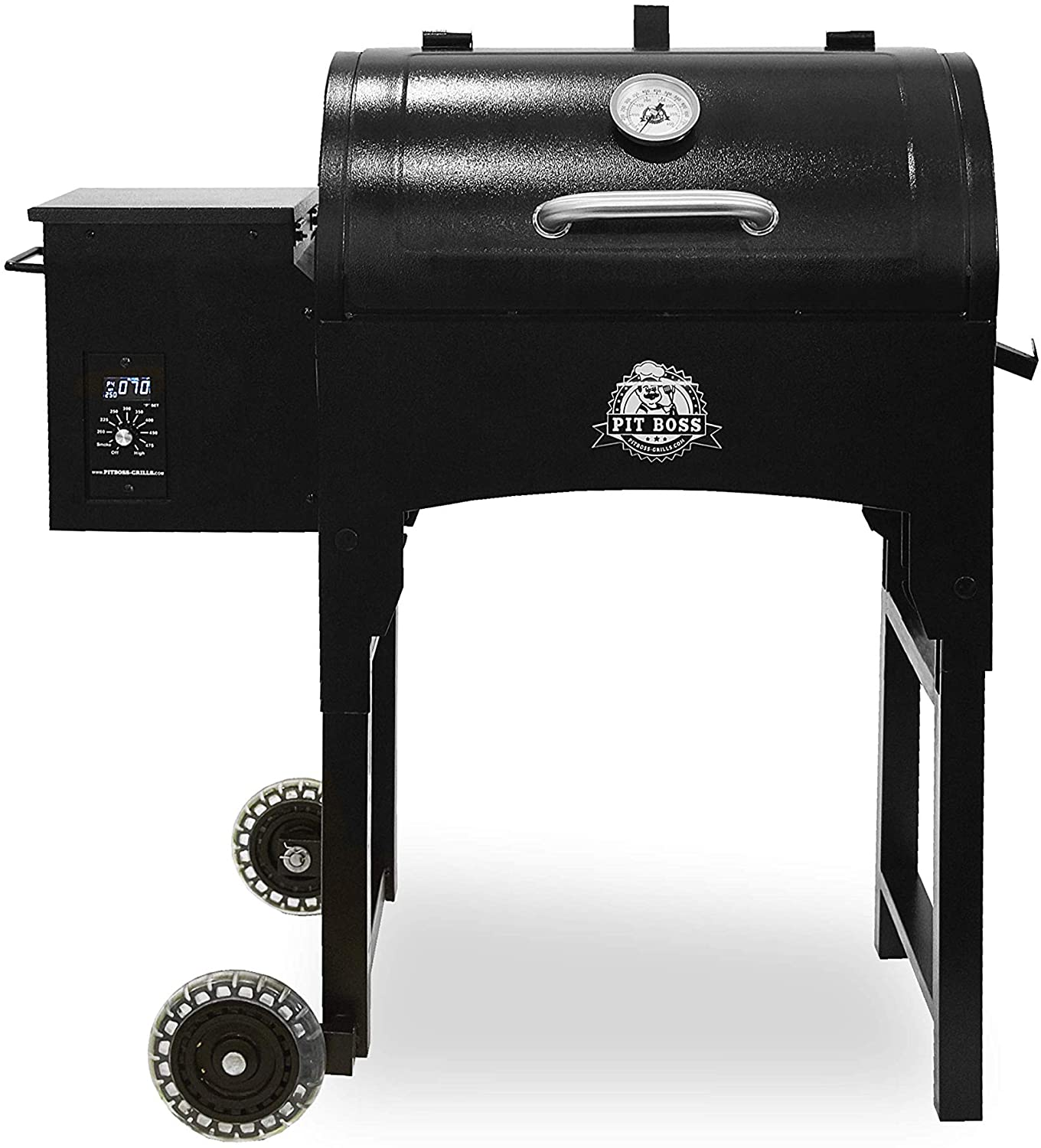 PIT BOSS PB440TG Portable Wood Folding Legs Pellet Grill