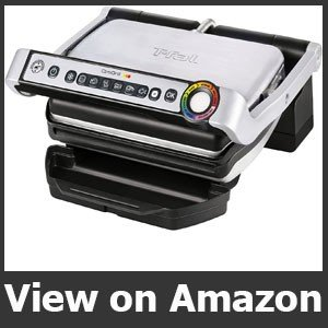 T-fal GC70 OptiGrill Electric Grill, Indoor Grill