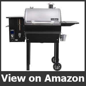 Camp Chef SmokePro Stainless DLX Pellet