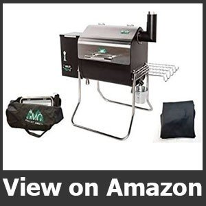 Green Davy Crockett Pellet Grill Package