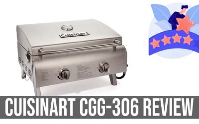 Cuisinart CGG-306 Review : 2 Burner Stainless Tabletop Grill