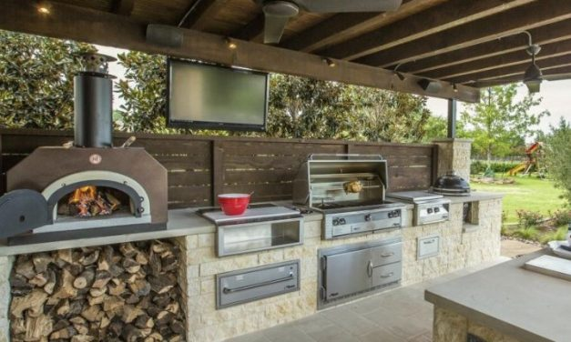 How To Build An Outdoor Kitchen With Metal Studs Perfectly!