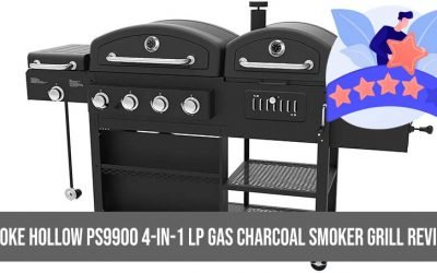 Smoke Hollow PS9900 4-in-1 LP Gas Charcoal Smoker Grill Review