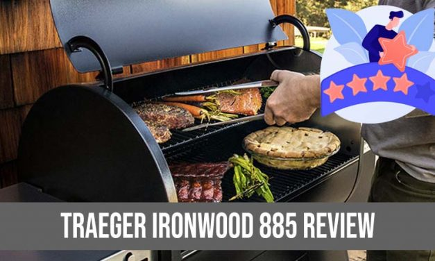 Traeger Ironwood 885 Pellet Grill Review : Wi-Fi Controlled